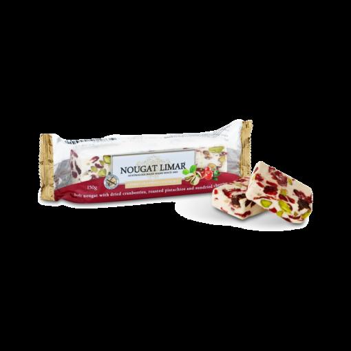 Nougat Limar Cherry Cranberry Pistachio 150g 1