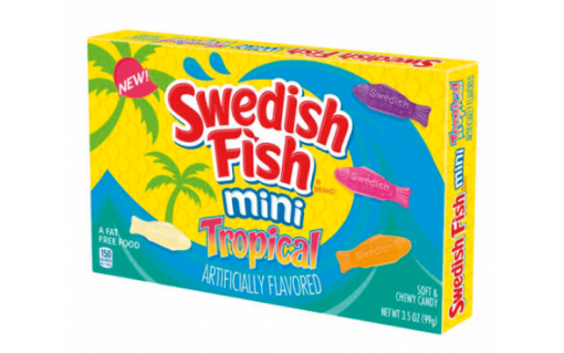 Swedish Fish Mini Tropical 99g 1
