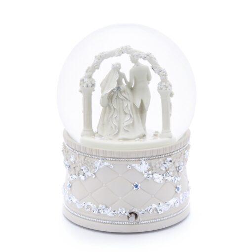Wedding Hall Musical Water Globe 1