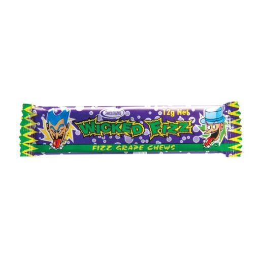 Wicked Fizz Fizz Grape Chews 12g 1