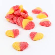 Peach Hearts 100g