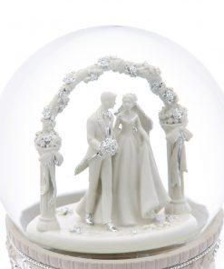 Wedding Hall Musical Water Globe 12