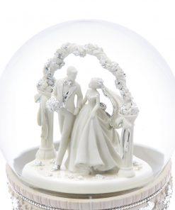 Wedding Hall Musical Water Globe 13