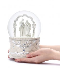 Wedding Hall Musical Water Globe 16