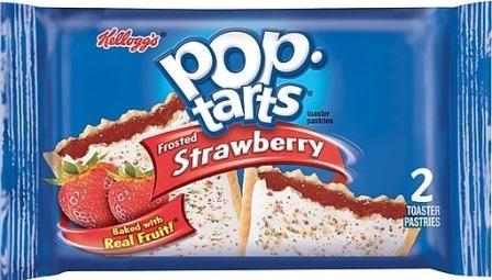 KEL POP TARTS STRAWBERRY 104G*6 1