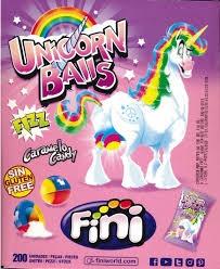 Unicorn Balls (Caramelo Candy Gluten Free) 1