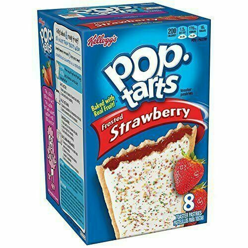 Pop Tarts Frosted Strawberry 384g 1