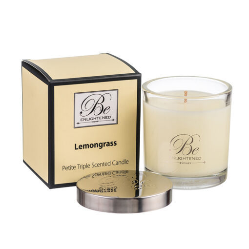 Lemongrass Triple Scented Candle 1