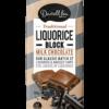 Darrell Lea Milk Chocolate Liquorice Block 180g