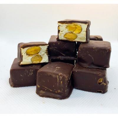 Dark Chocolate Almond  Nougat 120g 1