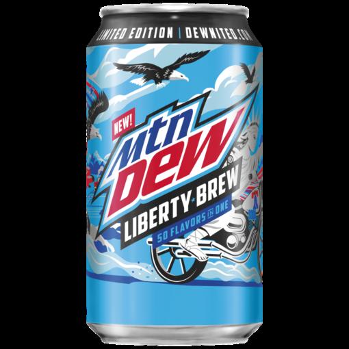 Mtn Dew Liberty Brew 355ml 1