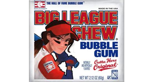 Big League Chew Outta Here Original 60g 1