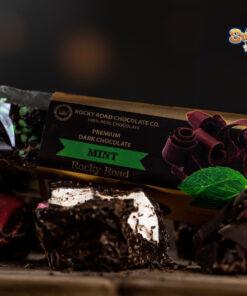 Dark Chocolate Rocky Road Mint 135g