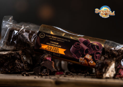 Milk Chocolate Rocky Road Salted Caramel