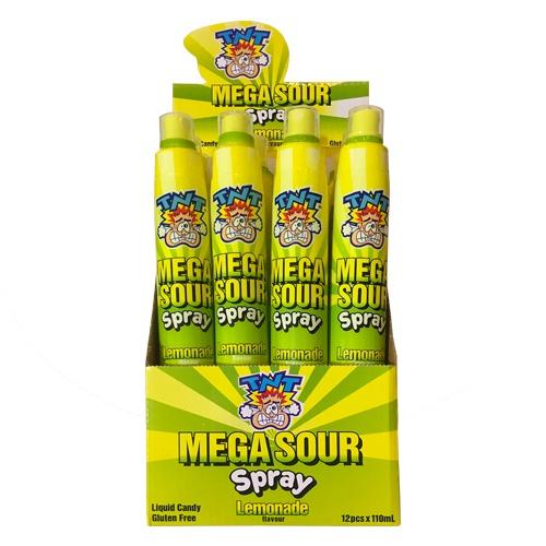 TNT Mega Sour Spray - Lemonade 110ml 1