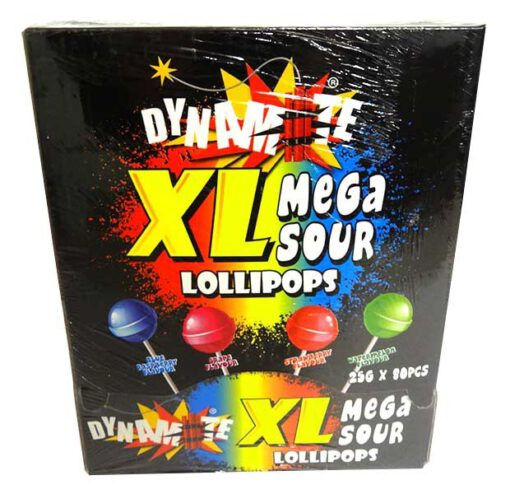 DYNAMITE XL Sour Lollipops 1