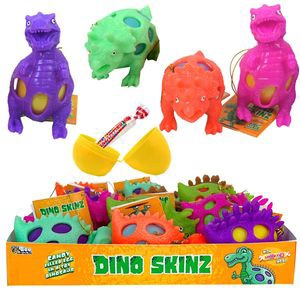 Bee Dino Skinz 8g with Smarties in side 1