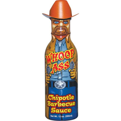 Whoop Ass Chipotle BBQ Sauce 355ml 1